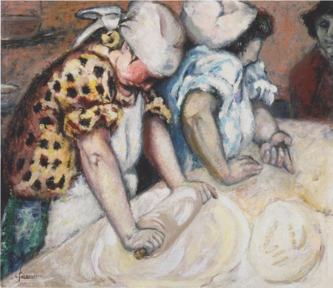 Johannessen_-_Bäckerinnen_-_1920 - Baker's apprentice