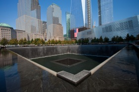 The National September 11 Memorial in New York is a tribute of remembrance and honor to the nearly 3,000 people killed in the terror attacks of September 11, 2001 at the World Trade Center site, near Shanksville, Pa., and at the Pentagon, as well as the six people killed in the World Trade Center bombing in February 1993. Photo by Svein-Magne Tunli