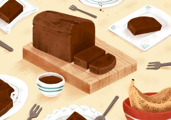Jeannie-Phan-Illustration-Precedent-Food-Banana-Bread